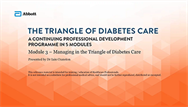Managing in The Triangle of Diabetes Care